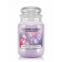 Country Candle - Snowflakes...