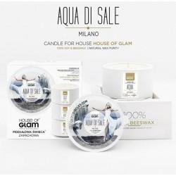 Świeca biała - Aqua di Sale...