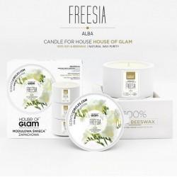 Świeca biała - Freesia Alba...