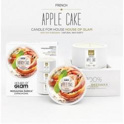 Świeca biała - French Apple...