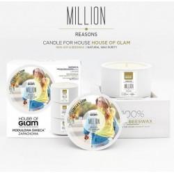 Świeca biała - Million...