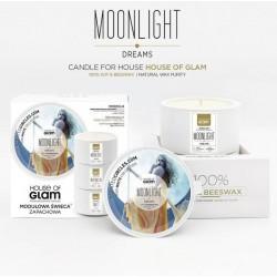 Świeca biała - Moonlight...
