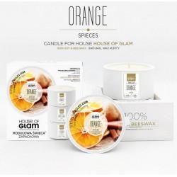 Świeca biała - Orange...