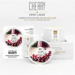 Świeca biała - Sweet Cherry...